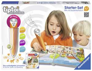 tiptoi® Lumea animalelor. Set de invatare a limbii germane cu creion interactiv.