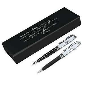 "Hope Pen & Pencil Set Jer 29 ""Trust"