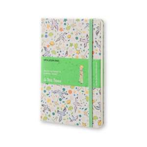 Moleskine Petit Prince Limited Edition Large Ruled White Canvas