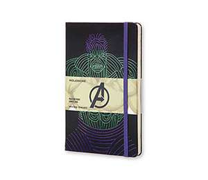 Moleskine The Avengers Limited Edition Notebook Large Ruled Hard - Hulk