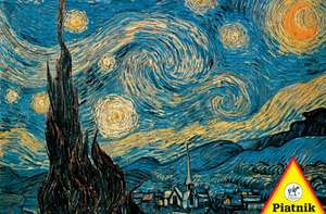 Vincent Van Gogh - Sternennacht. Puzzle 1000 Teile