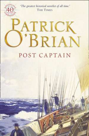 Post Captain de Patrick O'Brian
