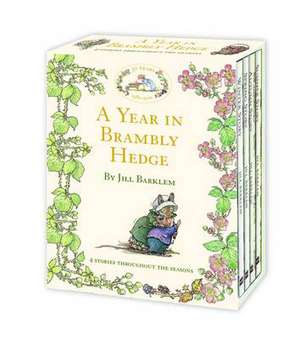 A Year in Brambly Hedge. 4 books