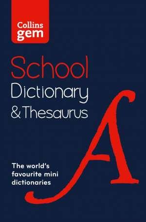 Collins Gem School Dictionary & Thesaurus