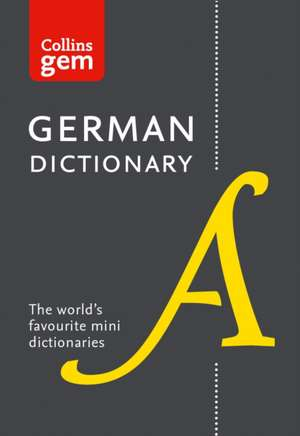Gem German Dictionary de  Collins Dictionaries