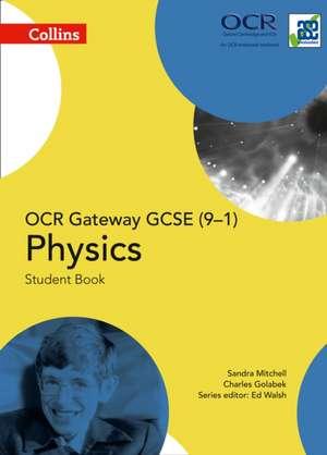 Collins Gcse Science - OCR Gateway Gcse (9-1) Physics de Sandra Mitchell