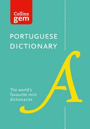 Collins Portuguese Gem Dictionary de  Collins Dictionaries