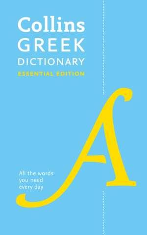 Collins Greek Essential Dictionary de  Collins Dictionaries