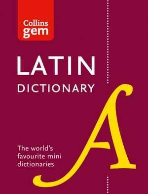 Collins Latin Gem Dictionary de  Collins Dictionaries
