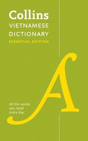 Collins Vietnamese Essential Dictionary de  Collins Dictionaries