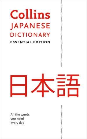 Collins Japanese Essential Dictionary de  Collins Dictionaries