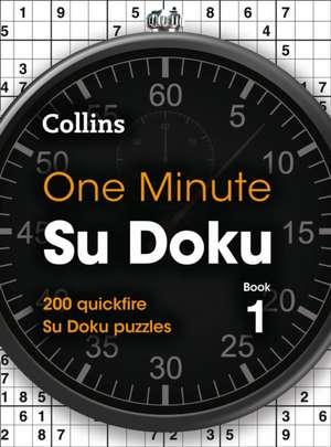 Collins One Minute Su Dokus Book 1 de Collins Puzzles