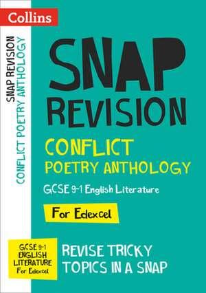 Conflict Poetry Anthology: New GCSE Grade 9-1 Edexcel English Literature de  Collins GCSE