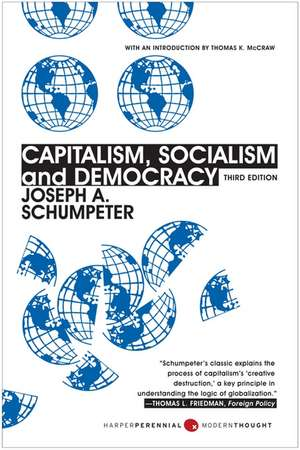 Capitalism, Socialism, and Democracy: Third Edition de Joseph A. Schumpeter