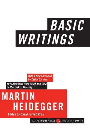 Basic Writings de Martin Heidegger