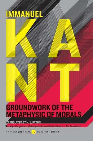 Groundwork of the Metaphysic of Morals de Immanuel Kant
