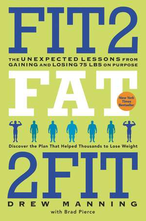Fit2Fat2Fit: The Unexpected Lessons from Gaining and Losing 75 lbs on Purpose de Drew Manning