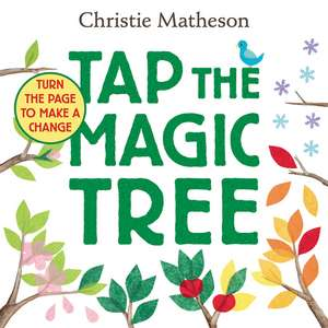 Tap the Magic Tree Board Book de Christie Matheson