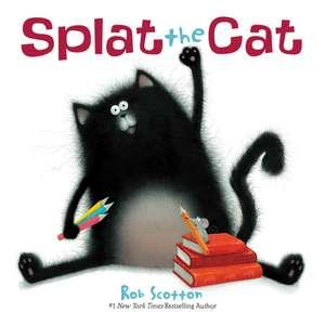 Splat the Cat Board Book
