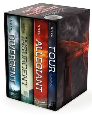 Divergent Series Ultimate Four-Box Set (Cartonat)