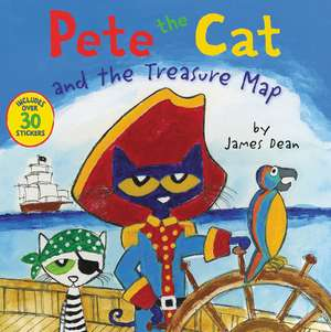 Pete the Cat and the Treasure Map imagine