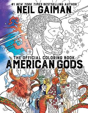 American Gods: The Official Coloring Book de Neil Gaiman