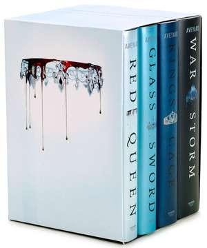 Red Queen 4-Book Hardcover Box Set: Books 1-4 de Victoria Aveyard