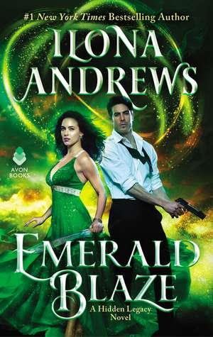 Emerald Blaze: A Hidden Legacy Novel de Ilona Andrews