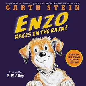 Enzo Races in the Rain! de Garth Stein