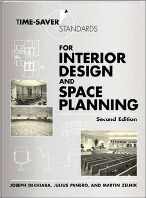 Time-Saver Standards for Interior Design and Space Planning, Second Edition imagine
