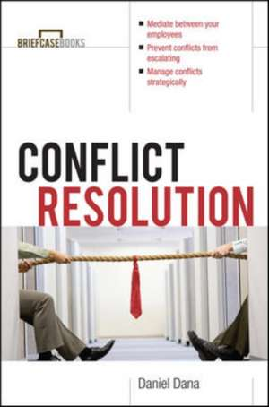 Conflict Resolution de Daniel Dana
