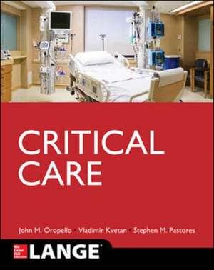 Lange Critical Care