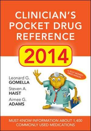 Clinicians Pocket Drug Reference 2014
