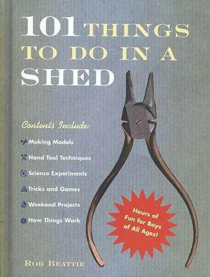 101 Things To Do In A Shed de Rob Beattie