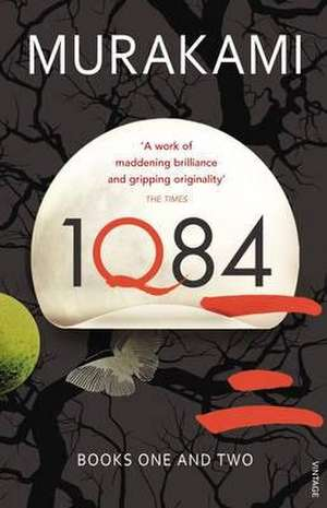 1q84 Books 1 and 2.