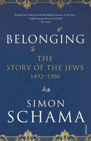 Belonging de Simon Schama