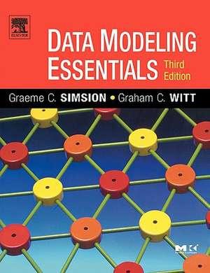 Data Modeling Essentials de Graeme Simsion