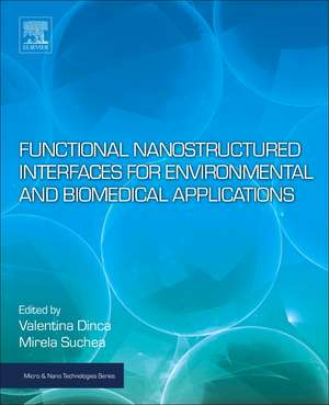 Functional Nanostructured Interfaces for Environmental and Biomedical Applications de Valentina Dinca