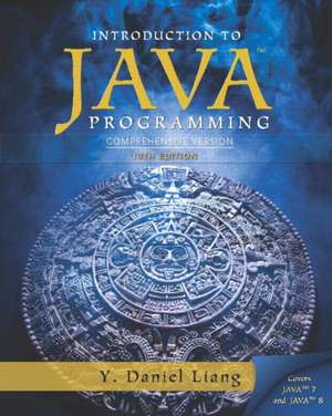 Introduction to Java Programming:  Comprehensive Version with MyProgrammingLab Access Card Package de Y. Daniel Liang