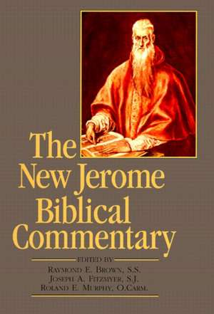 New Jerome Biblical Commentary, the (Paperback Reprint) de Raymond Edward Brown