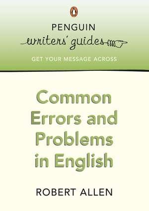 Common Errors and Problems in English de Robert Allen
