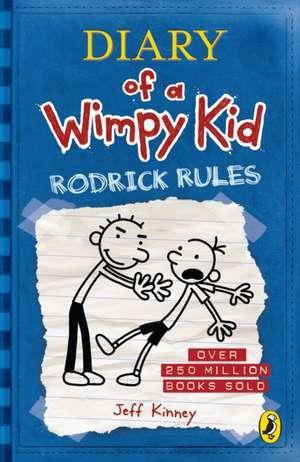 Diary of a Wimpy Kid: Rodrick Rules (Book 2) de Jeff Kinney