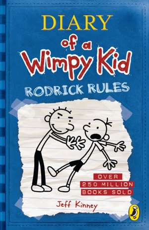 Diary of a Wimpy Kid: Rodrick Rules (Diary of a Wimpy Kid Book 2) de Jeff Kinney