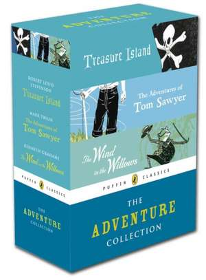 Puffin Classics Adventure Collection de Kenneth Grahame