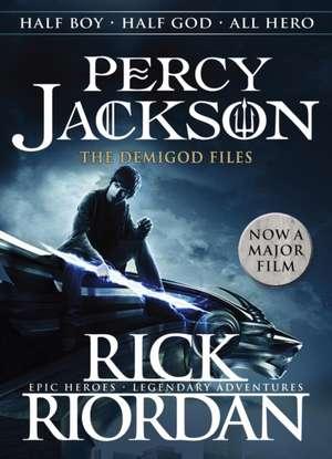Percy Jackson and The Demigod Files (Tie-in Edition): Percy Jackson and the Olympians companion book de Rick Riordan