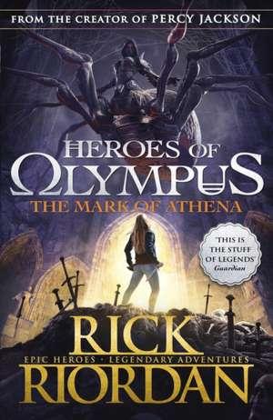 The Mark of Athena  de Rick Riordan