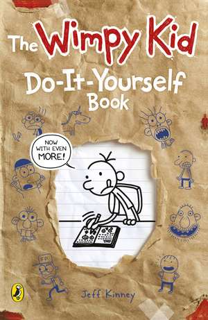 Diary of a Wimpy Kid: Do-It-Yourself Book de Jeff Kinney