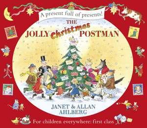 The Jolly Christmas Postman de Allan Ahlberg