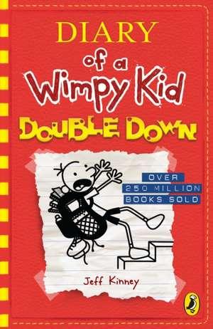 Diary of a Wimpy Kid: Double Down (Book 11) de Jeff Kinney