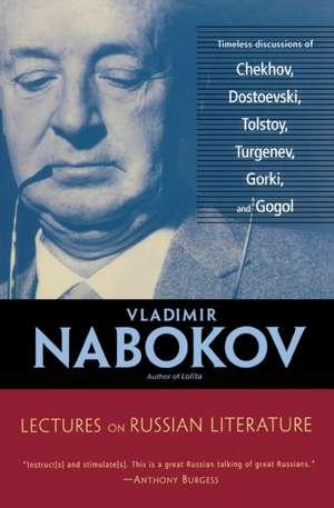 Lectures on Russian Literature de Vladimir Nabokov